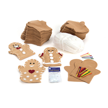 Gingerbread Men Puppets 30pk  medium