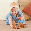 Wooden Wheeled Animal Grasping Toys 4pk  small