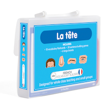 French Vocabulary Builders - Face  medium
