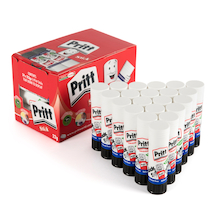 Medium Pritt Glue Stick 22g 24pk  medium
