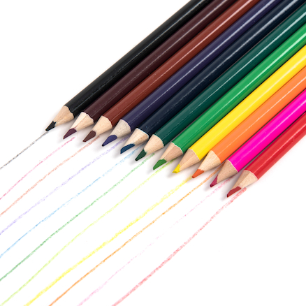 TTS Everyday Colouring Pencils Assorted  large