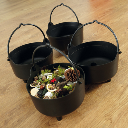 Cauldrons 4pk  large
