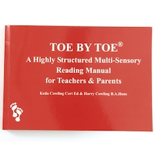 Toe By Toe Reading Manual for Teachers and Parents  medium