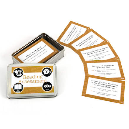 Reading Assessment Activity Cards  large