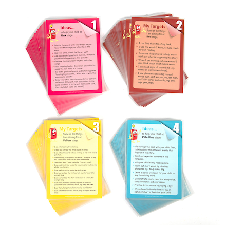 Book Band Reading Target Cards  large