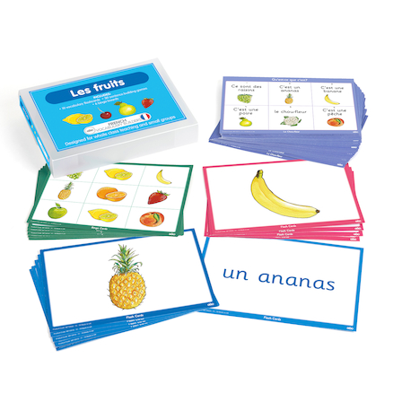 French Vocabulary Builders \- Fruits  large