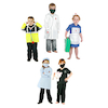 Role Play Occupation Outfit 5pcs  small