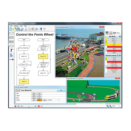 Flowol 4 Flowchart Simulation Software  large