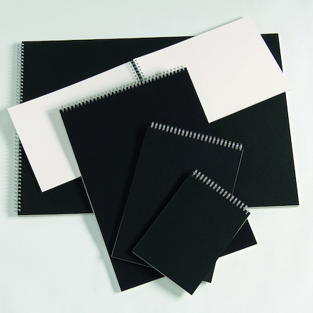 Pisces Spiral Sketchbooks A3 100gsm  large