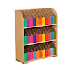 Bookcase with 33 Curriculum Coloured Boxes  small
