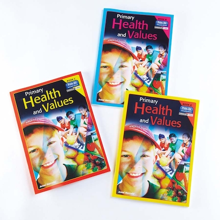 Primary Health and Values Activity Book 3pk  large