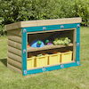 Outdoor Wooden Storage Units  small