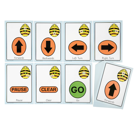 A5 Bee-Bot® Sequence Cards 49pk  large