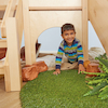 Indoor Wooden Climb and Slide Unit  small