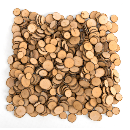 Wooden Tree Flake Discs 500pk  large