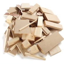 Wooden Offcuts 4kg  medium