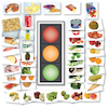 Traffic Light Food Game 1m display and A5 cards  small