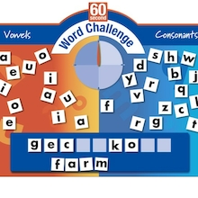 Outdoor 60 Second Word Challenge Game  medium