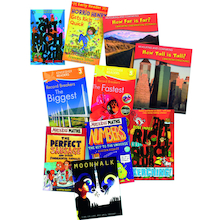 KS2 General Maths Books 10pk  medium