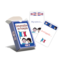 Flip-It French Conversation Cards  medium