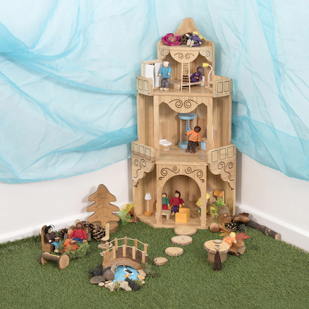 Small World Corner Dolls House  large