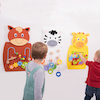 Animal Activity Wall Set pk3  small