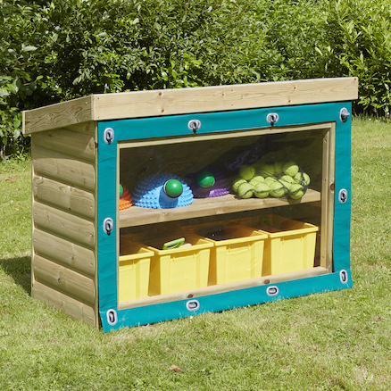 Outdoor Wooden Storage Units  large