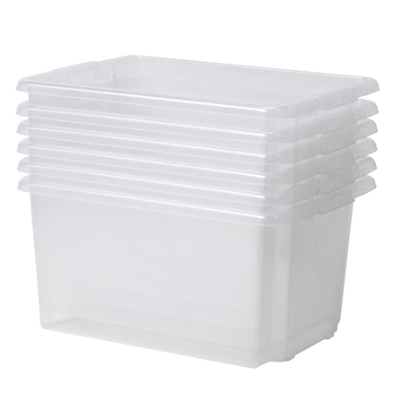 PlayScapes Clear Tubs 6pk  large