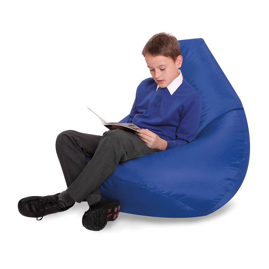 Buy large bean bag reading chairs tts for Bean bag chair company