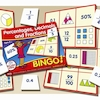 Percentages, Decimals And Fractions Bingo Game  small