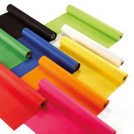 Coloured Felt Rolls 2.5 x 0.45m  large