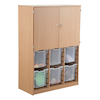 Cupboard With Jumbo Tray Storage  small
