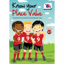 Know Your Place Value Activities Book  medium