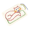 Fine Motor Pattern Lacing and Threading Boards 4pk  small