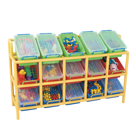 Rainbow 15 Tilt Bin Storage Unit  large