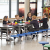 Rectangular 16 Seater Folding Table  small