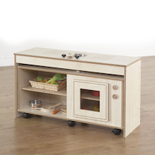 Wooden Space Saver Fold Away Kitchen Unit  medium