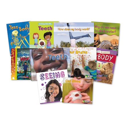KS1 Human Body Books 10pk  large