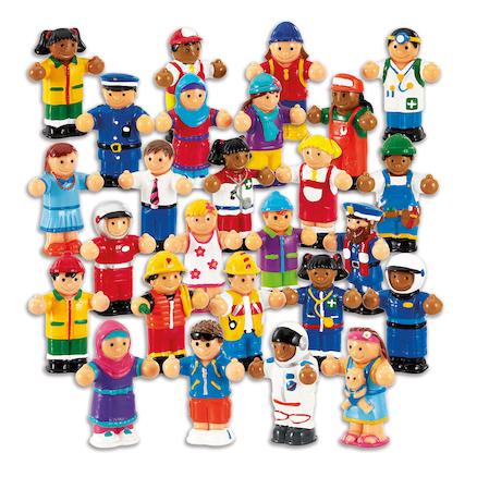 Buy Small World Wow World People Figure Set 26pcs Tts