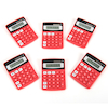 Big Button Coloured Calculators 6pk  small