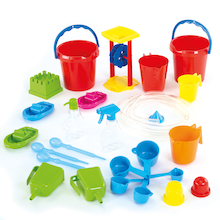 Classroom Plastic Water Play Tools 27pk  medium