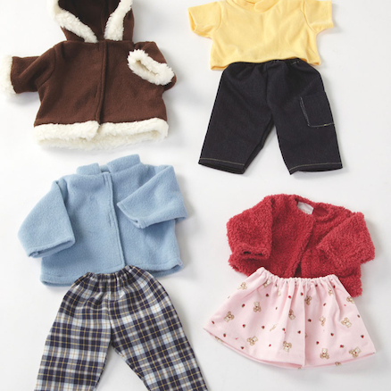 Role Play Dolls Winter Clothing Set  large
