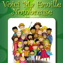 Voici Ma Famille Nombreuse French Storybook  medium