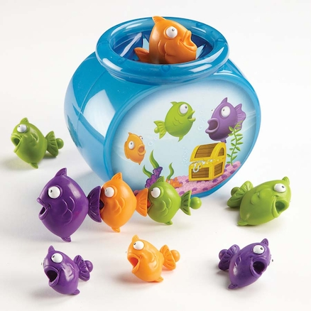 Hide n Go Fish Early Maths Concepts Fishbowl Game  large