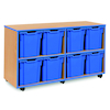 Blue Edge Tray Storage Units  small