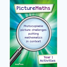 Picture Maths Activity Book  medium