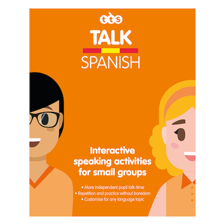 Talking Spanish Box of Activities  large