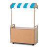 Mobile Shelf Unit with Canopy  small