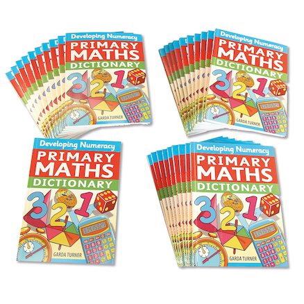 Primary Maths A5 Dictionary  large