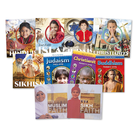 KS1 Faith and Religion Books 10pk  large